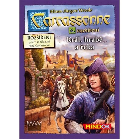 Carcassonne rozšíření 6 Král,hrabě a řeka