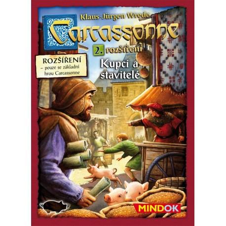 Carcassonne 2. rozšíření - Kupci a stavitelé