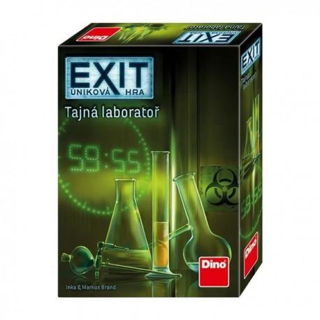 Exit úniková hra: Tajná laboratoř