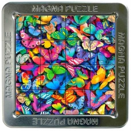 Magna 3D puzzle magnetické 16 dílků Motýlci