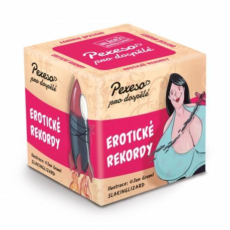 Hříšné pexeso - Erotické rekordy