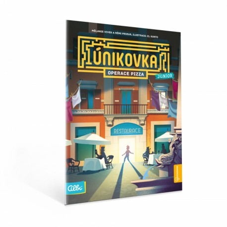 Únikovka Junior - Operace Pizza (kniha)