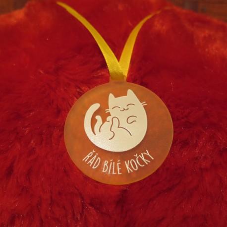 Čaroděj Modromír - Řád Bílé kočky - medaile žlutá