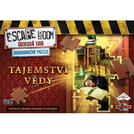 ESCAPE ROOM: Dobrodružné puzzle - Tajemství vědy